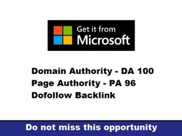 Write And Publish A Guest Post On Microsoft DA 100 PA 71