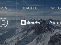 Create premium, mobile ready, & SEO friendly wordpress website