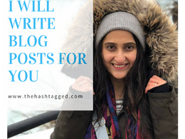 Write Blog Posts and Articles that are SEO Optimized