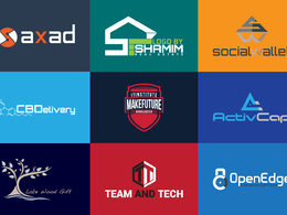 Design Premium Logo With Unlimited Concepts/Revisions+All Files