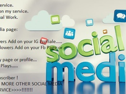 Boost your Social media on 1000+ People for increase your Rank