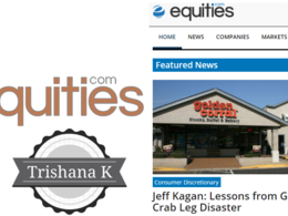 Guest Post on Equities.com DA 63 for Finance, Business Equities