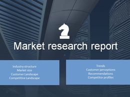 Do a detailed market research report