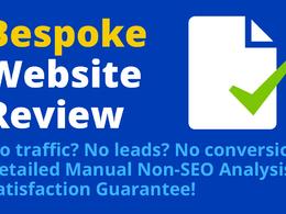 Detailed Non-SEO Analysis— Bespoke Website Review & Action Plan