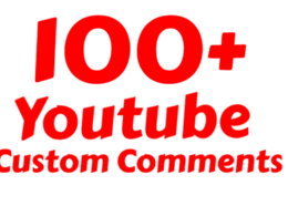 Add 80  Instant You Tube  Custom Comments