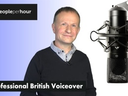 Record a professional British Male neutral accent voice over