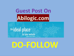 Write and publish guest post on abilogic.com with dofollow link