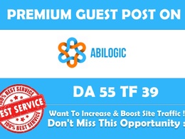 Write And Publish Guest Post On Abilogic da67 dofollow