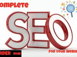 Do Complete SEO For Your Website to Rank In Google