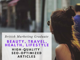 Write 1 months worth of beauty, health or travel blogs