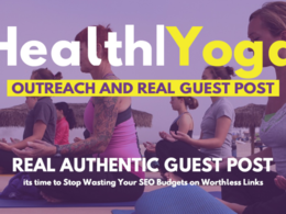 Publish a guest post on Health, Doctor, Yoga related blog