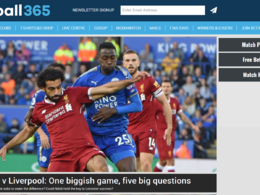 Guest post on Football365.com sports website - DA 65