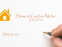 Guest Post on Home and Garden Niche Website Dofollow DA 50