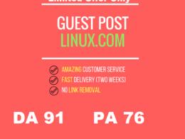Publish guest Post in Linux.com DA 92 (Dofollow) (5 days Left)