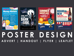 Design a luxury professional flyer / poster / leaflet