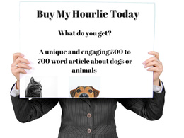 Write an engaging 500 to 750 word post on dogs or animals