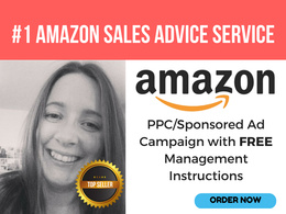 Set Up or Improve your Amazon Sponsored Products (PPC)