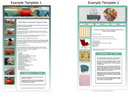Customise an eBay listing template fully compliant for 2018