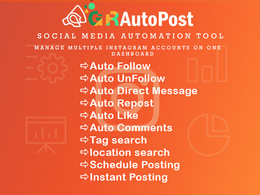 Social Profile Management Service for 2 month