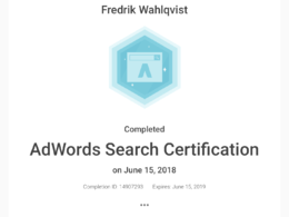 Set up and optimise your AdWords search campaign