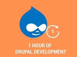Do 1-hour Drupal Development
