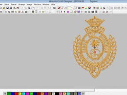 Create  Embroidery Digitizing Into Dst,Pes File