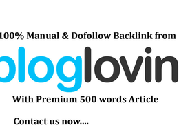 Write And Publish Dofollow Guest Post On Bloglovin