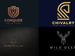 Design Creative Logo + 5 Concepts + Unlimited Revisions