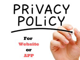 Draft Privacy Policy( GDPR Complaints)  for Your Website or App