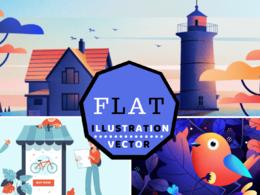 Design Engaging Custom Flat Illustrations
