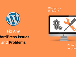 Fix Any WordPress Issue/Problem/Bugs
