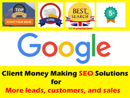 Offer White hat SEO, Organic SEO - Guaranteed Ranking in the UK