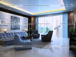 Create 3d interior + exterior rendering with unlimited revisions
