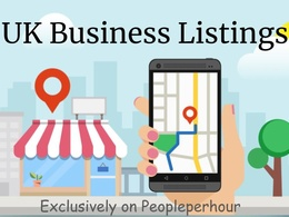 50 UK Local Listings Citations For UK based business
