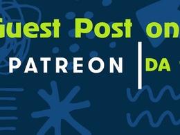 Guest Post On Patreon.com DA 91