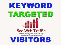 Get 300-450 Daily KEYWORD TARGETED Visitors For 3O Days