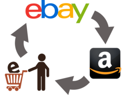 Upload 100 products on Amazon and eBay at £30