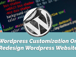 WordPress Customization Or Redesign WordPress Website