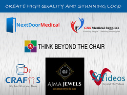 High Quality and Stunning Logo with Unlimited Revisions