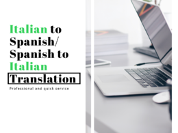 Translate up to 1000 words from Spanish to Italian/ vice versa