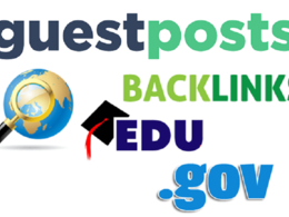 Offer 3 Edu Guest Posts for Boost Your Keyword Ranking