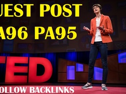 Publish Guest Post on TED.com DA96 Dofollow [Limited offer]