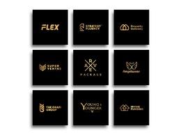 Design Professional Creative logo + Free Favicon + Source Files