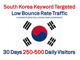 Drive South SEO KOREA Keyword Targeted Low Bounce Rate Traffic