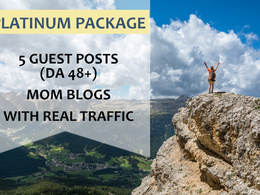 Guest Post on 5 DA 40+ Mommy Blogs With Real Traffic