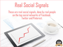 Create 2000 Real Social Signals