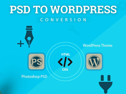 Convert PSD into High-end & Premium Looking WordPress website