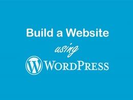 Design a responsive, SEO compatible  website using WordPress