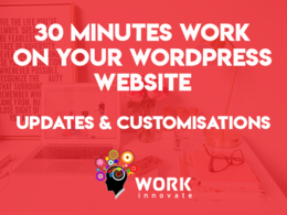 Do updates/customisations/fixes on your WordPress or PHP Website
