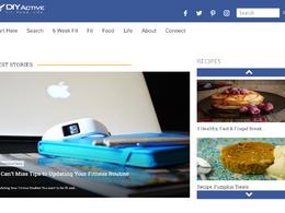 Guest post on Diyactive.com Health & Ftiness website - DA 40